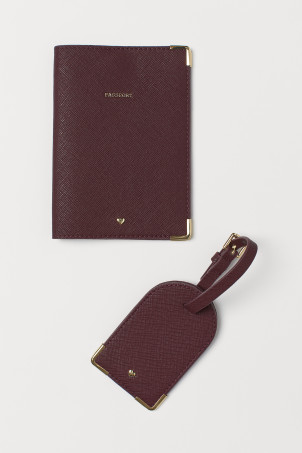 Passport cover and luggage tagModel