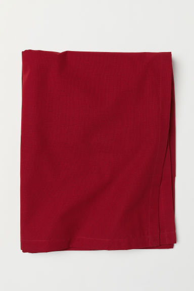 Cotton tablecloth - Red - Home All | H&M CN