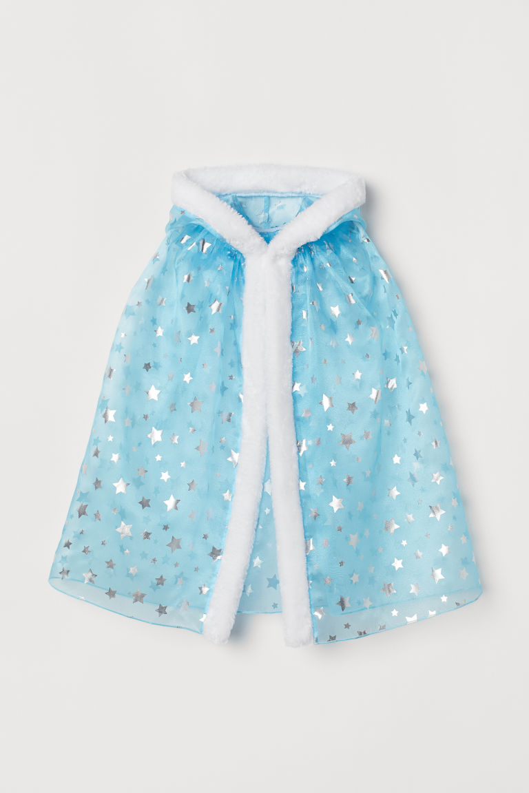 Princess cape - Light blue/Stars - Kids | H&M