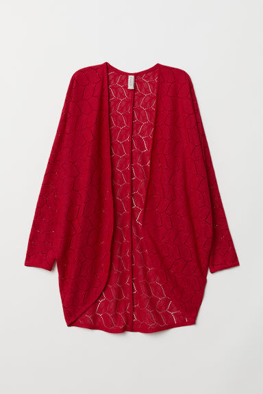 Cardigan aus Spitze - Rot - Ladies | H&M AT