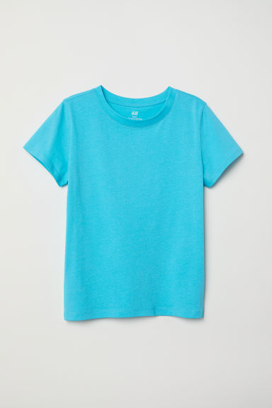 Cotton T-shirt - Turquoise - Kids | H&M