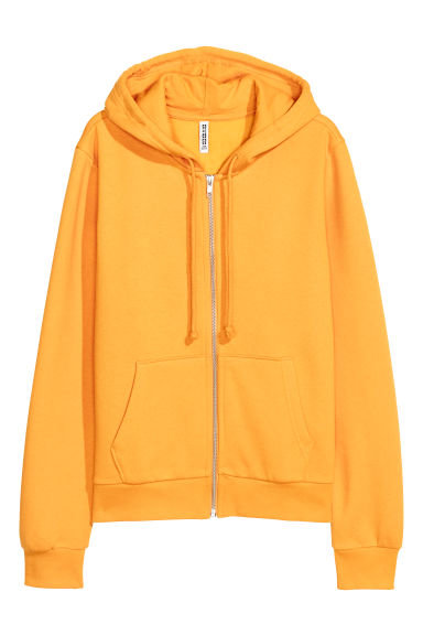 Hooded jacket - Yellow -  | H&M GB