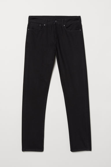 Straight Jeans - Black - Men | H&M GB