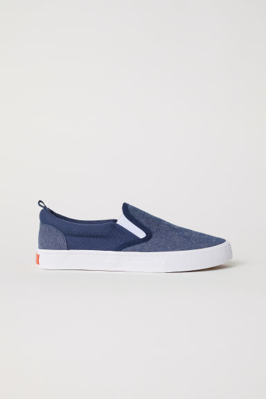 Slip-on trainers - Dark blue - Kids | H&M CN