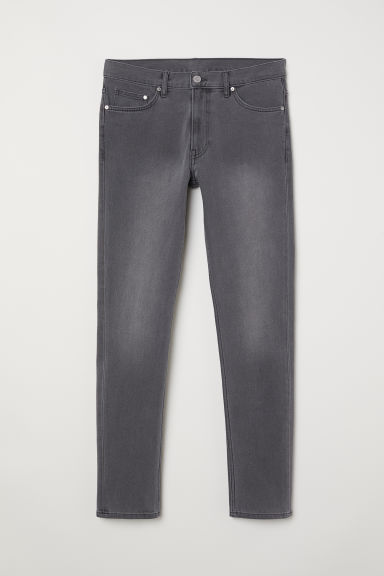 Slim Jeans - Dark grey denim - Men | H&M