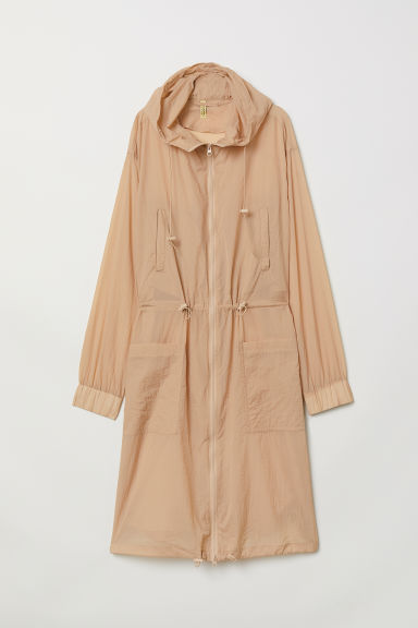Long parka - Beige - Ladies | H&M