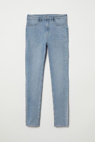 Super Skinny High Jeans - Lichtblauw - DAMES | H&M BE