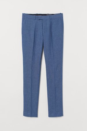 Pantaloni in lino Slim Fit