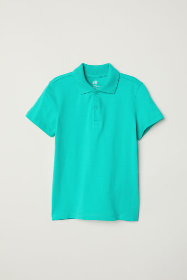 Polo shirt - Green -  | H&M