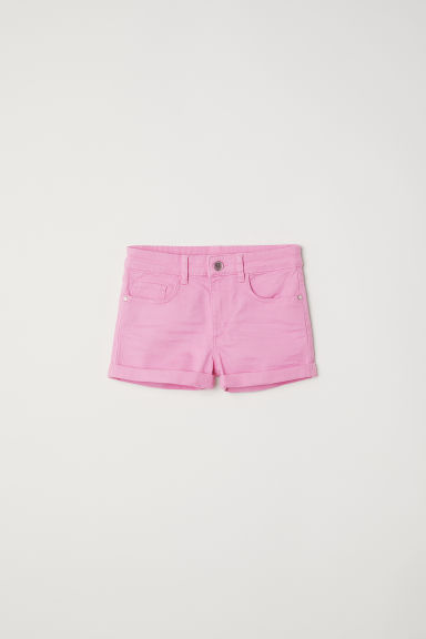 Twill shorts - Pink -  | H&M