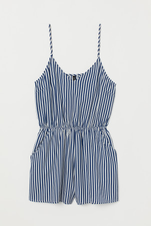 Playsuit van viscose
