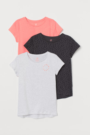 3-pack cotton tops