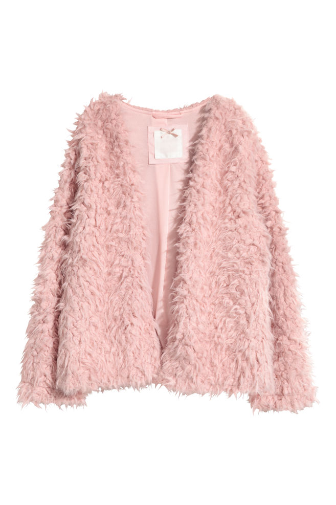 03b8ac7431df9 Faux Fur Jacket - Vintage pink - Kids