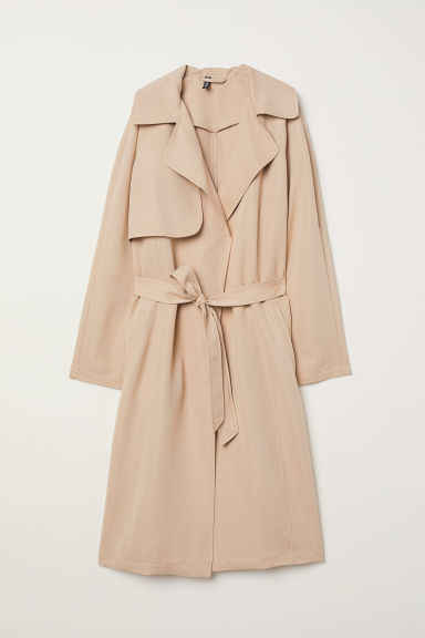 Trench leggero - Beige - DONNA | H&M IT