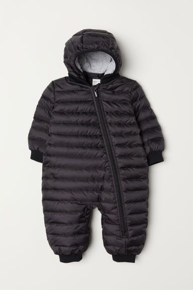 Down all-in-one suit - Black - Kids | H&M CN