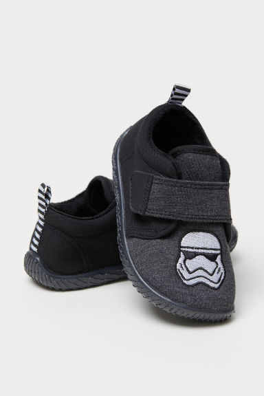 Jersey indoor shoes - Dark grey/Star Wars -  | H&M