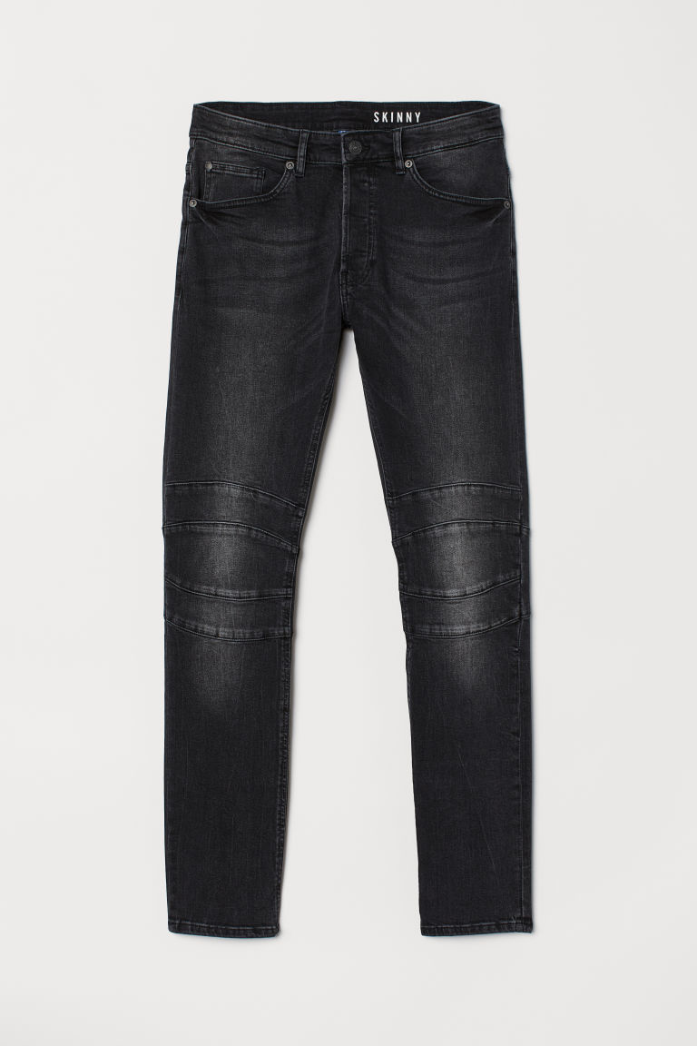 Skinny Jeans - 黑色/水洗 - Men | H&M CN