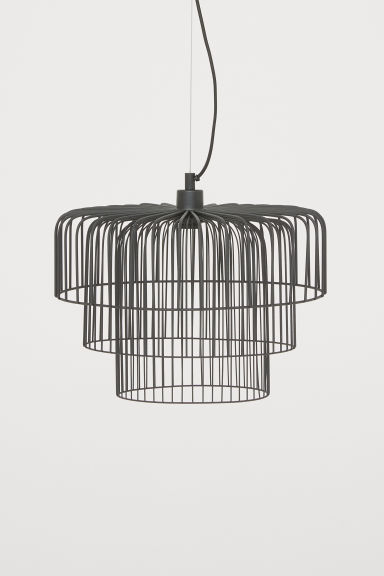 Taklampa i metall - Svart - Home All | H&M SE