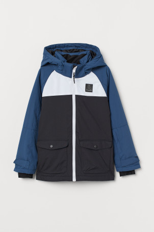 Water-repellent ski jacket