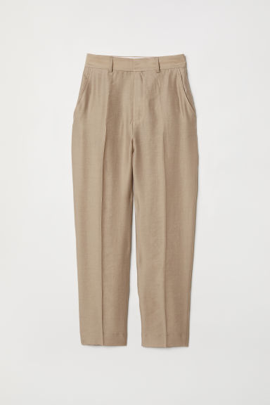 Suit trousers - Light mole -  | H&M