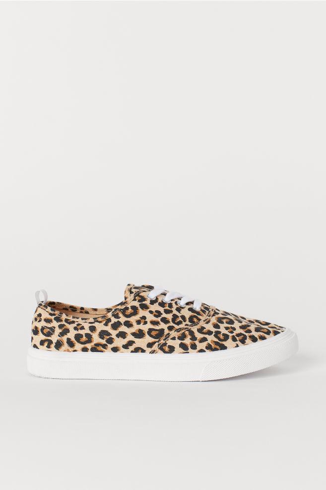 1bfa93c8de8f Sneakers - Beige leopard print - Ladies