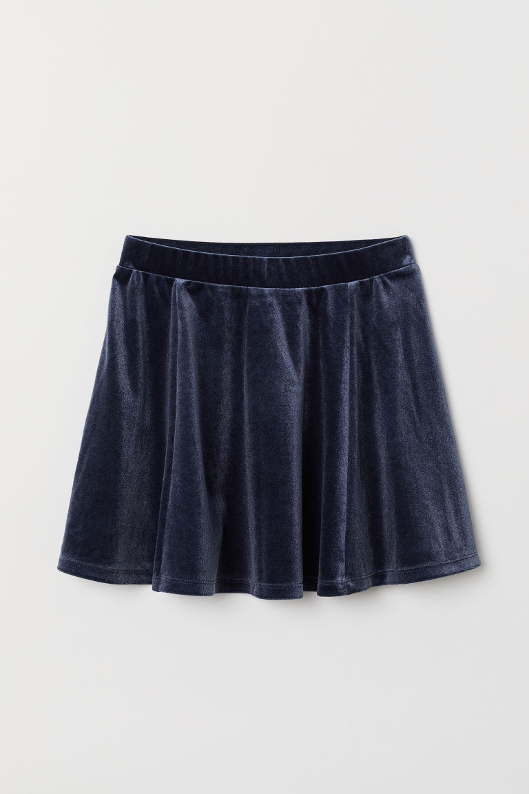 Skater skirt - Dark blue - Kids | H&M