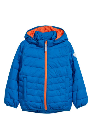 Lightweight padded jacket - Bright blue - Kids | H&M CN