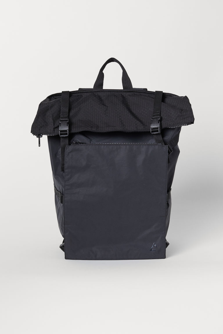 Backpack with a laptop sleeve - Black - Men | H&M CN