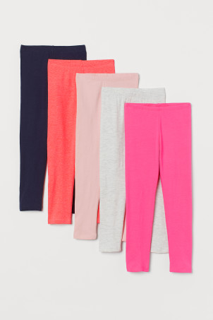 5-pack trikotleggings