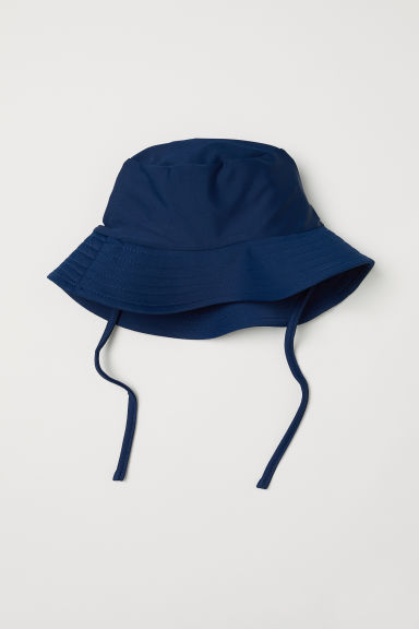 Fisherman's hat with UPF 50 - Dark blue - Kids | H&M