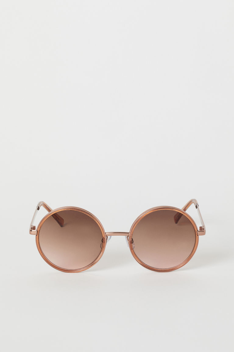 Sunglasses - Bronze-colored - Ladies | H&M US