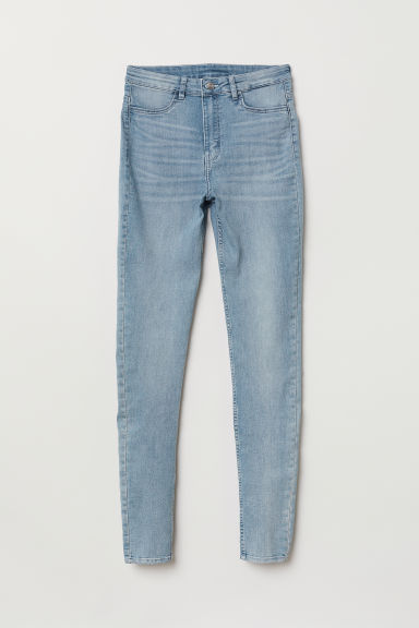 Super Skinny High Jeans - Hellblau - Ladies | H&M AT