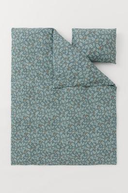 Efterstræbte Sengetøj – H&M Home Collection – Shop online   H&M DK BJ-26