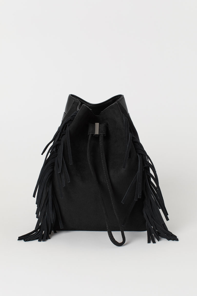 Small Backpack with Fringe
