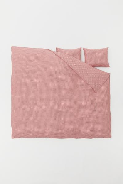 H&M - Patterned duvet cover set - 1