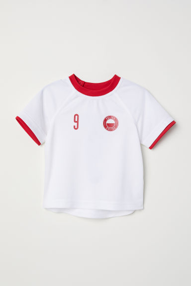 Football shirt - White/Polska - Kids | H&M