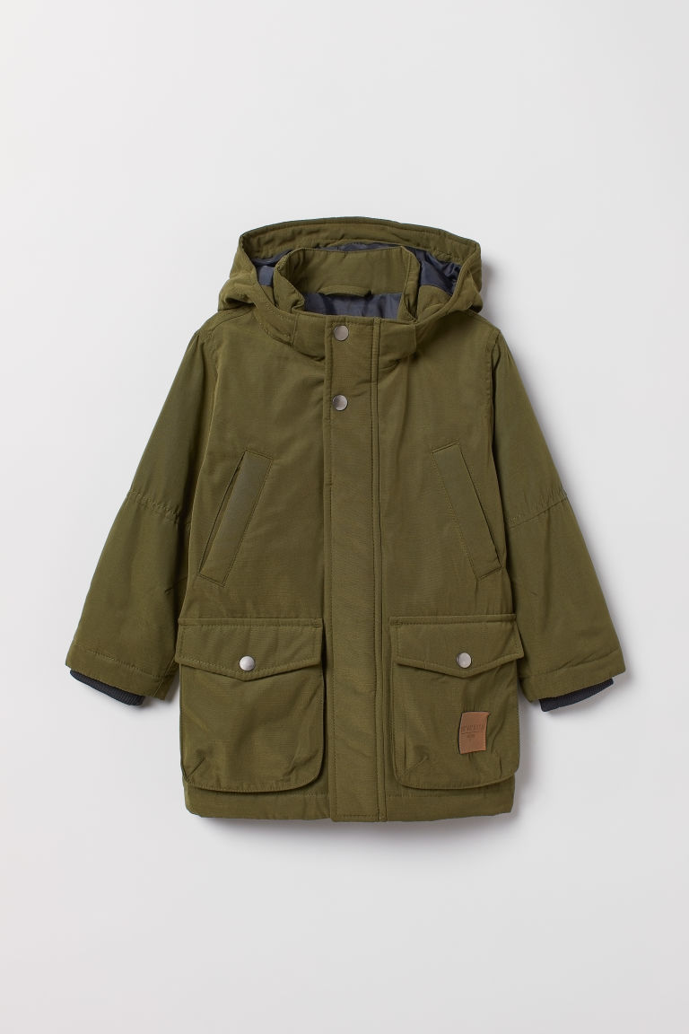 Parka imbottito - Verde scuro -  | H&M IT