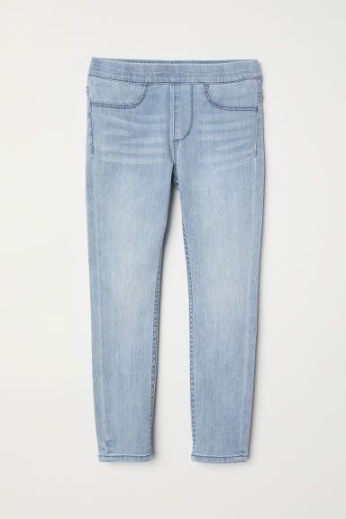 Leggings vaqueros - Azul denim claro -  | H&M ES