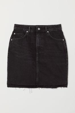 dec0221dd0ad Krátka džínsová sukňa