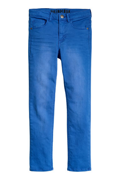 Superstretch Skinny Fit Jeans - 亮蓝色 - Kids | H&M CN