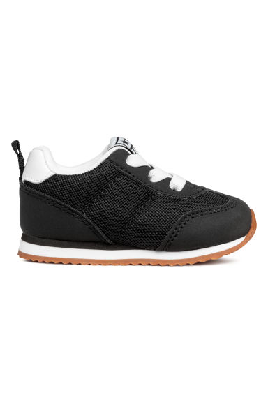Mesh trainers - Black - Kids | H&M