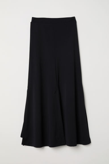 Calf-length skirt - Black - Ladies | H&M CN