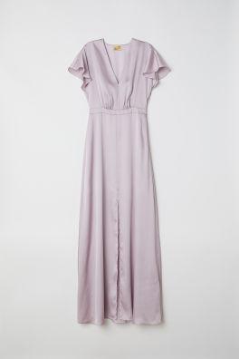 3812ab9eb3c9 Dlhé saténové šaty