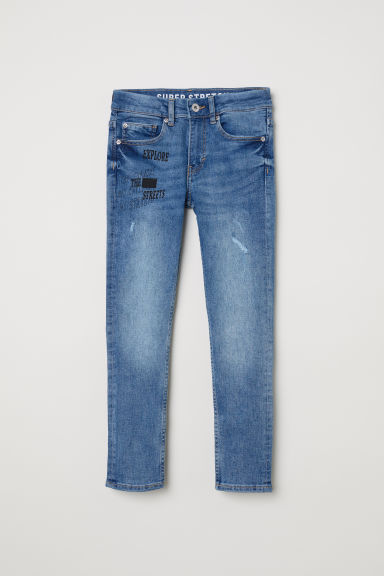 Superstretch Skinny Fit Jeans - Denim blue - Kids | H&M CN