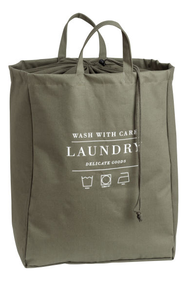 Laundry bag - Khaki green - Home All | H&M GB