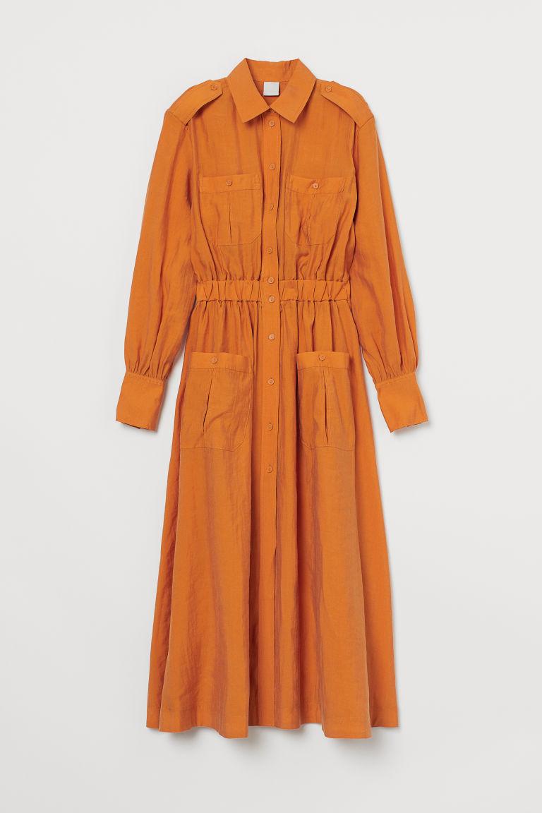 Lyocell Blend Shirt Dress by H&M