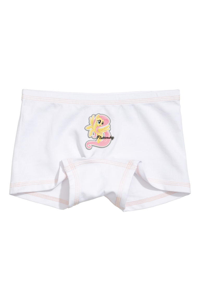 3-pack boxer briefs - Light grey/My Little Pony - Kids | H&M CN