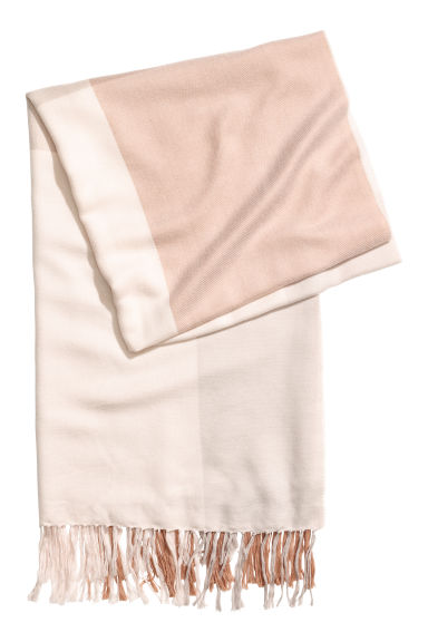 Scarf - Light beige/Mole - Ladies | H&M CN
