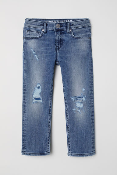 Superstretch Slim Fit Jeans - デニムブルー - Kids | H&M JP