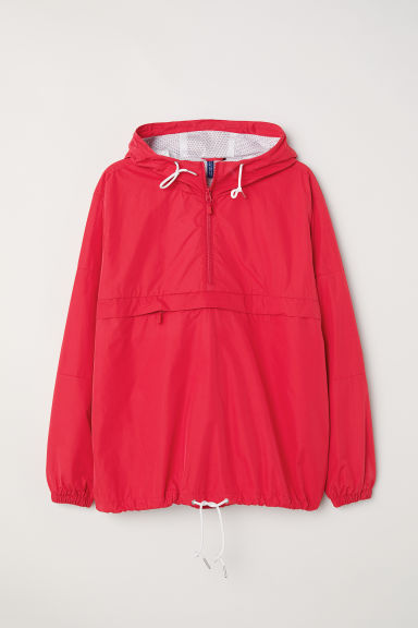 Anorak with Hood - Red - Men | H&M CA